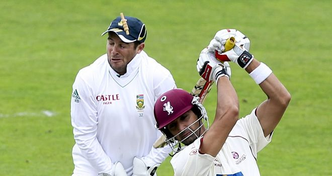 Mark Boucher: Was struck in the eye by a bail