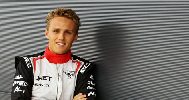 Max Chilton will be in action on Friday morning