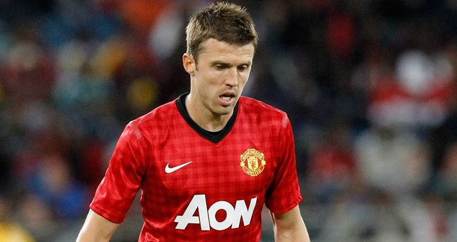 Michael Carrick: Manchester United midfielder could be deployed in defence