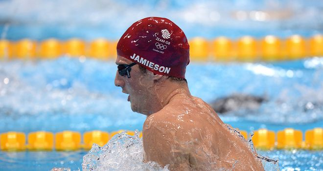 Michael Jamieson: Fastest qualifier for 200m breaststroke final