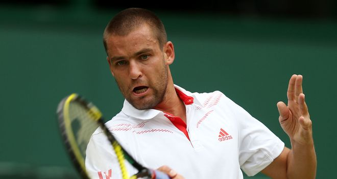 Mikhail Youzhny: Broken three times as he dropped the second set to love