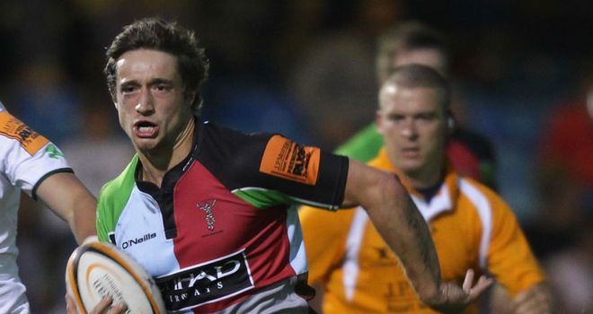 Miles Mantella: Has agreed a dual registration contract with London Scottish