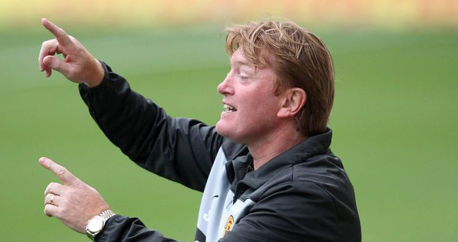 Stuart McCall: Delighted with Motherwell after they moved into second in the SPL