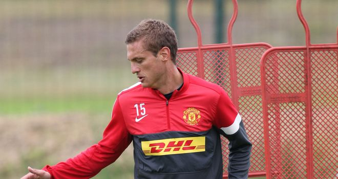 Nemanja Vidic: Delighted to be back in action after working hard in his recovery