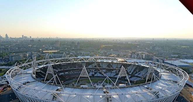 Olympic Stadium: Expected to become home to West Ham United.