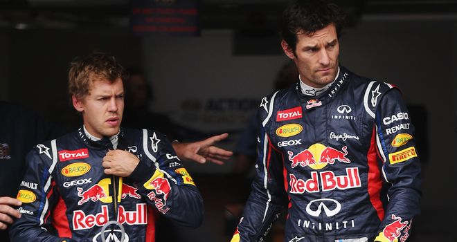 Cleared: Vettel and Webber will start from second and eighth as expected