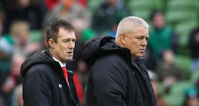 Transition: Rob Howley and Warren Gatland