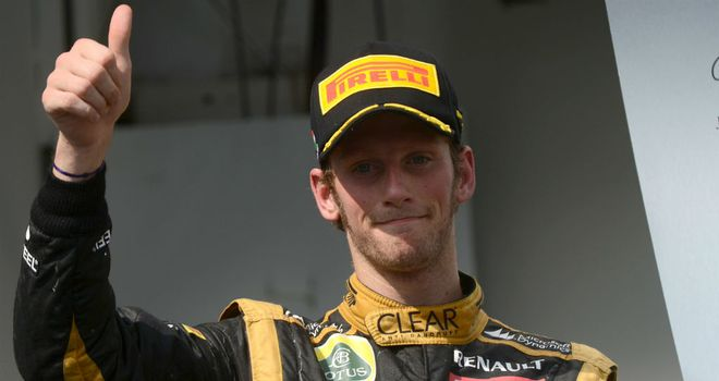 Romain Grosjean: Left disappointed with only third place