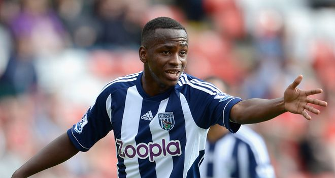 Saido Berahino: West Brom youngster has joined Peterborough on loan