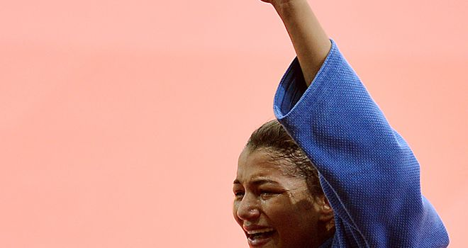 Sarah Menezes: Won gold for Brazil