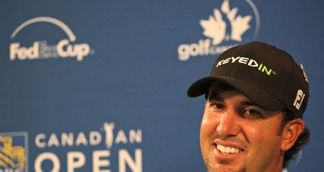 Scott Piercy: One-shot lead in Ontario after course record 62 in opening round