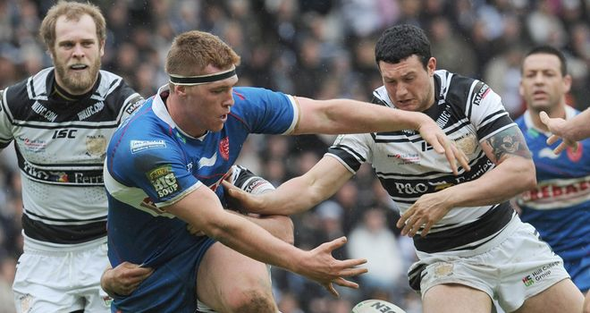 Scott Taylor: Has joined Wigan from Hull KR on a two-year contract
