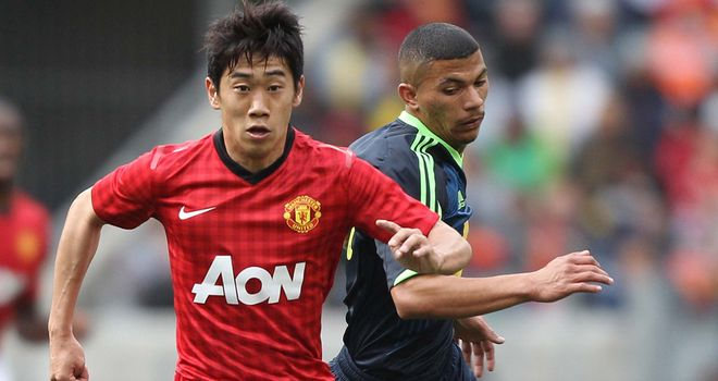 Shinji Kagawa: Scored the only goal as Manchester United beat Shanghai Shenhua
