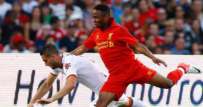 Raheem Sterling: Has impressed his new manager at Liverpool