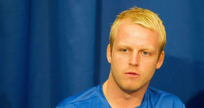 Steven Naismith: Has joined up with his new Everton team-mates in Austria