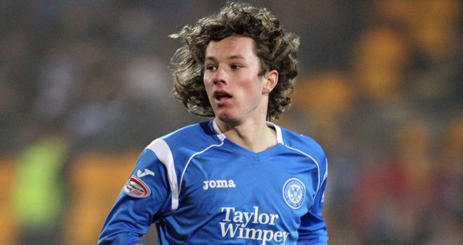 Stevie May: Former St Johnstone striker put Hamilton ahead