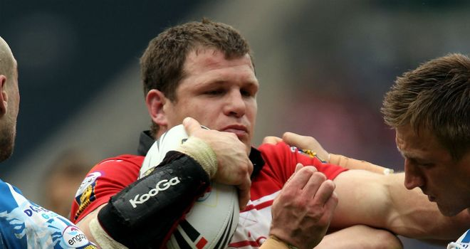Stuart Fielden: Sean O'Loughlin believes the prop will be like a new signing