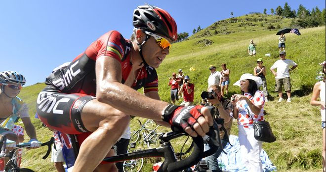 Cadel Evans: Has hinted at retirement in two years' time