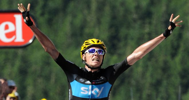 Chris Froome: Magnificent performance to take his first Tour de France stage win