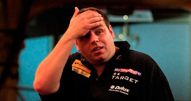 Adrian Lewis: Eliminated from Grand Slam of Darts in group stages