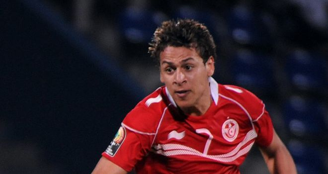 Youssef M'Sakhi: Netted brilliant winner for Tunisia
