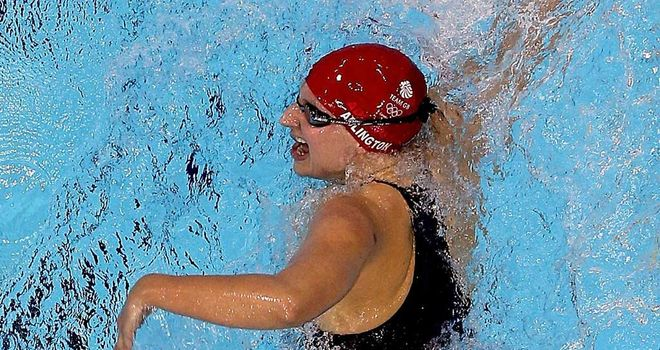 Rebecca Adlington: Eighth into final