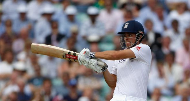Four: Cook was at his fluent best, says Athers