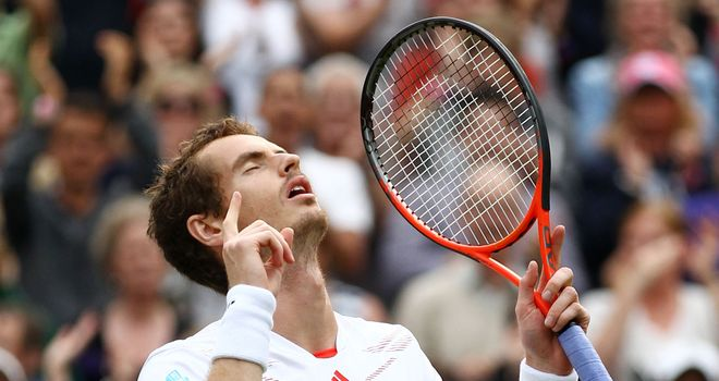 Andy Murray: Looking to end wait for first grand slam