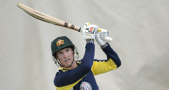 George Bailey: Australia batsman scored career-best 65 at The Oval