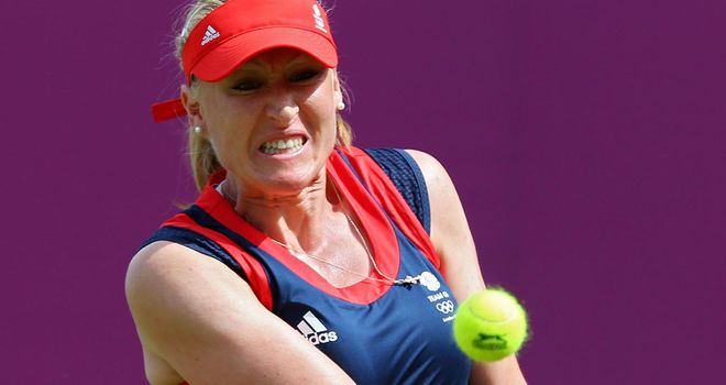 Elena Baltacha: Eager to return to competitive action