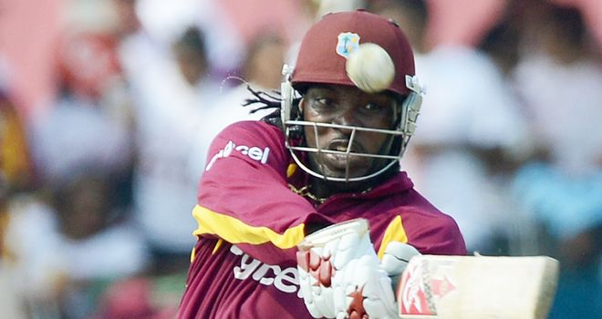 Chris Gayle: West Indies opener hit two fifties in the T20s in Miami