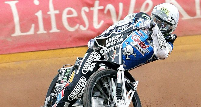 Chris Holder: Top scored for Poole (Pic credit Mike Hivnes)