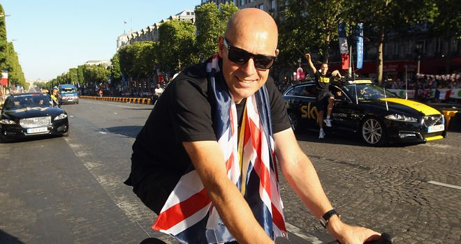 Dave Brailsford: Hard work of the riders the secret to their Tour success