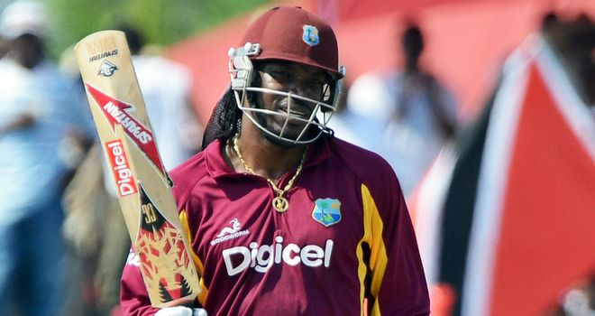 Chris Gayle: Made easy work of chasing down target