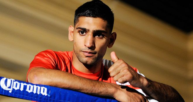 Amir Khan: His first fight under the tutelage of Virgil Hunter