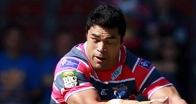 Kylie Leuluai: Will miss Leeds' play-off clash with Catalan Dragons