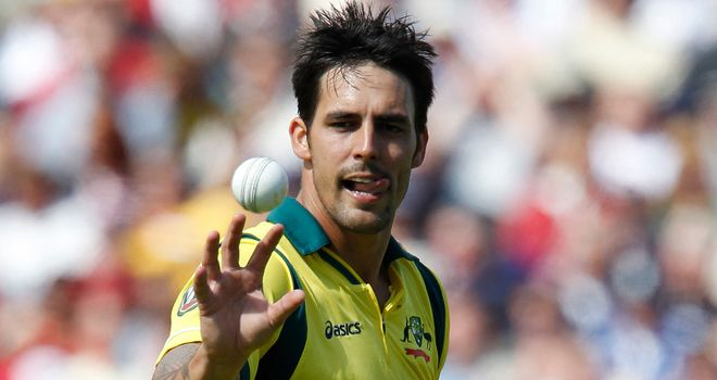 Mitchell Johnson; Form could get him back into the Test side