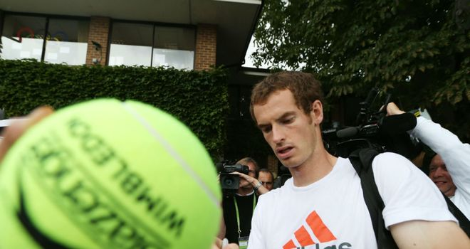 Andy Murray is seeking to become the first British winner of Wimbledon since Fred Perry