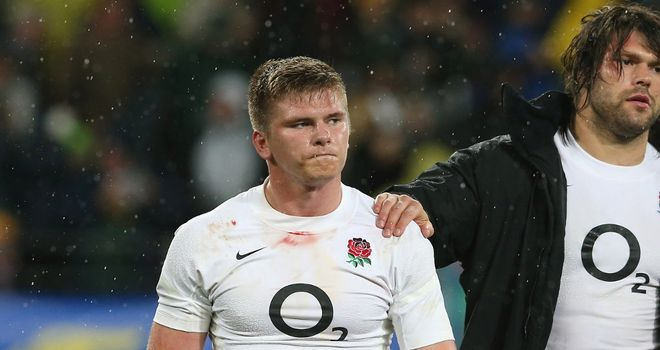 Owen Farrell: Nominated for top IRB award