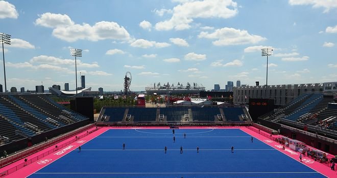 Riverbank Arena: venue for  the 5-a-side and 7-a-side competitions during the Paralympics