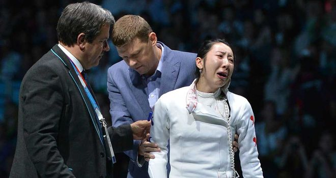 Shin A Lam: Suffered a controversial defeat in the semi-finals of the women's epee