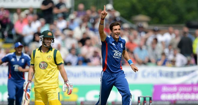 Steven Finn: Led the way with four for 37 as England won yet again