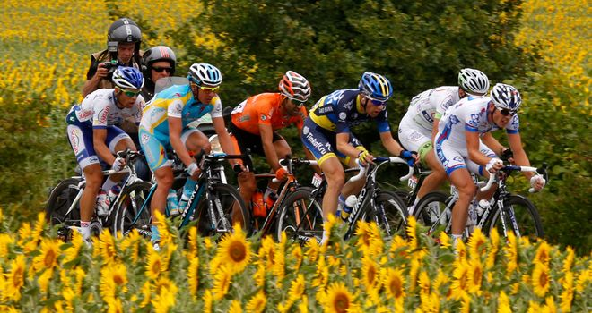 The 100th edition of the Tour de France takes place from June 29 to July 21
