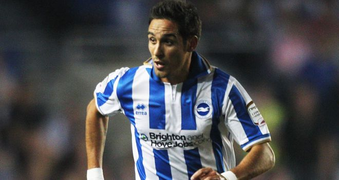 Vicente was on the scoresheet as Brighton upset Chelsea to win 3-1