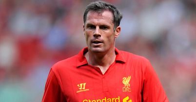 Jamie Carragher: Veteran defender earned a rare start in draw with Chelsea