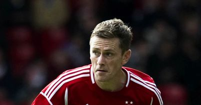Gary Naysmith: Agreed a new deal to stay at Aberdeen