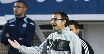 Pat Fenlon: Delighted with Hibs' 2-1 win over Dundee United