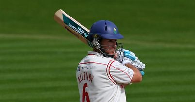 Jim Allenby: Glamorgan all-rounder's 103 not out ensured draw