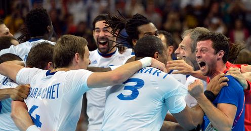 France win handball gold