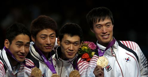 South Korea take sabre gold